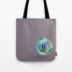 In a Bubble Tote Bag