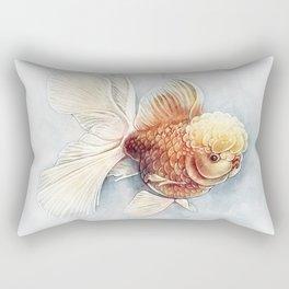 Oranda Goldfish Rectangular Pillow