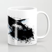 oil Mugs featuring Oil escape by Thomas Aldrich