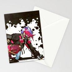 Dystopian Dumpster Princess Stationery Cards