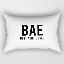 Best auntie ever Rectangular Pillow