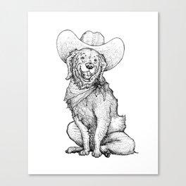 A Cowgirl Canvas Print