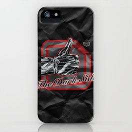 The Dark Side iPhone Case