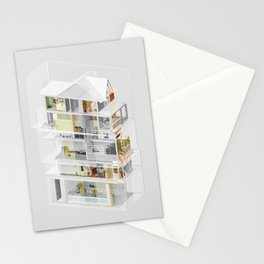 Mumbai/Toronto 1/2 Stationery Cards