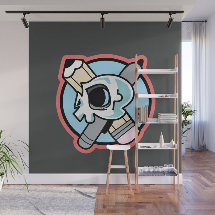 Artist's Life for Me Wall Mural