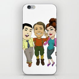 The Forager's Crew iPhone Skin