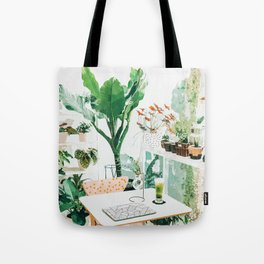 Junglow #illustration #decor Tote Bag