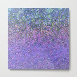 Sparkley Grunge Relief Background G181 Metal Print