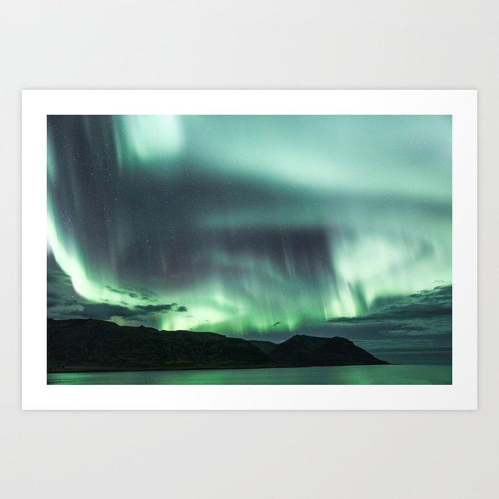 Borgarfjörður, Iceland Art Print