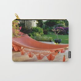 Tropical Caribbean Island Resting  Carry-All Pouch