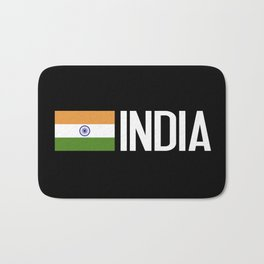 India: Indian Flag Bath Mat