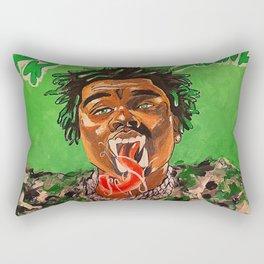 gunna,ds3,drip season 3,rapper,album,poster,wall art,fan art,music,hiphop,rap,rapper Rectangular Pillow