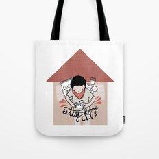 Stay Home Club (alternate) Tote Bag