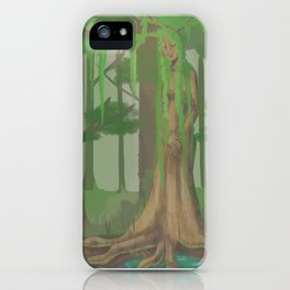 (Literal) Wood Nymph iPhone Case