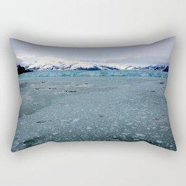 Alaska Hubbard Glacier Floating Blue Ice Rectangular Pillow