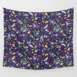Rainbow Jelly Wall Tapestry