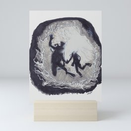 Divers Mini Art Print