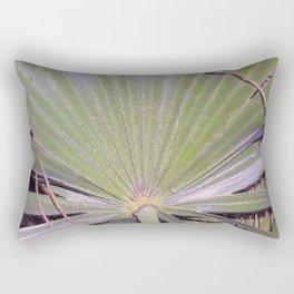 Saw Palmetto Abstract Rectangular Pillow