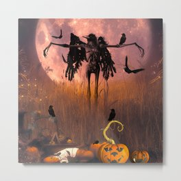 Halloween design Metal Print