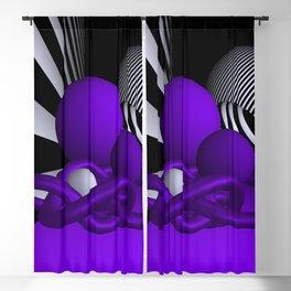 violet knots Blackout Curtain