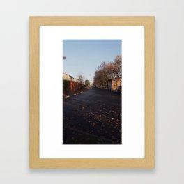 On the Road 1 Framed Art Print