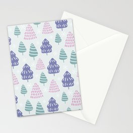 SILENT NIGHT(BLUE BACKGROUND) Stationery Cards