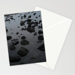 Mirrored Rocks Stationery Cards