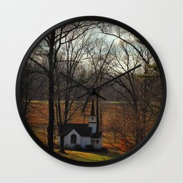 Chapel Valley Wall Clock