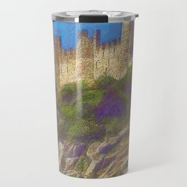 Almourol, Knights Templar fort Travel Mug