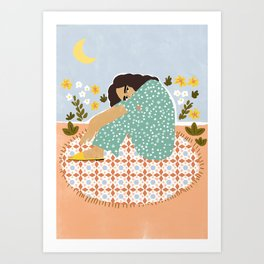 Parisian chic Art Print