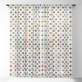 247 Toilet Rolls 16 Sheer Curtain