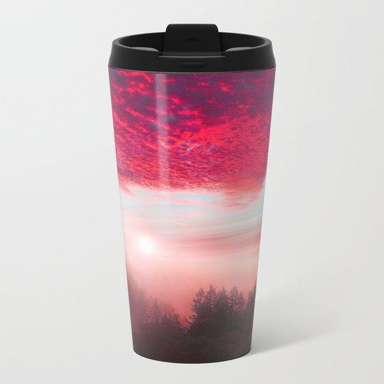Pastel vibes 28 Metal Travel Mug