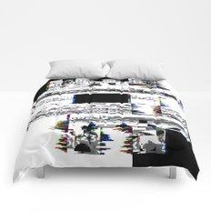 8-Bit Skull Comforters