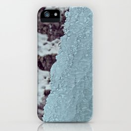 Ice Waterfall iPhone Case
