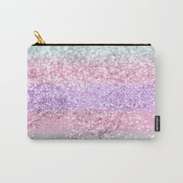 Unicorn Girls Glitter #8 #shiny #pastel #decor #art #society6 Carry-All Pouch