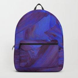 Blurple Mess Backpack