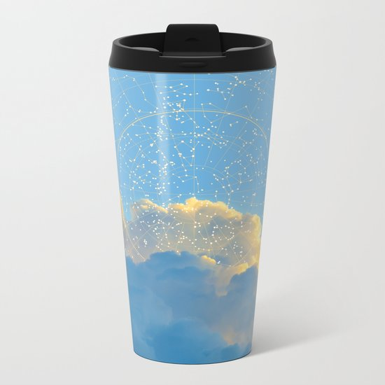 Create Your Own Constellation Metal Travel Mug