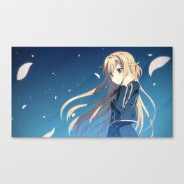 Asuna Yuuki Canvas Print