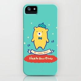 Little baby bear iPhone Case