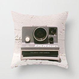 The Button, 1981 Throw Pillow