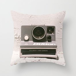 The Button, 1981 Throw Pillow