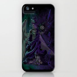 Azazel Evesky, The Black Angel iPhone Case