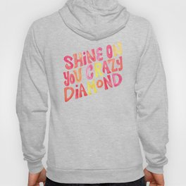 Shine On Your Crazy Diamond – Pink & Melon Palette Hoody