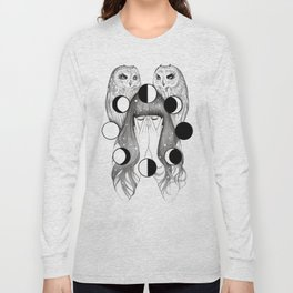 Moon Spells Long Sleeve T-shirt