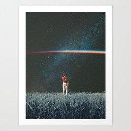 Saw The Light Art Print