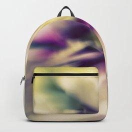Blured flowers Backpack