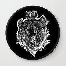 Berlin Bear King Wall Clock