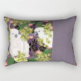 Cockatoos Rectangular Pillow