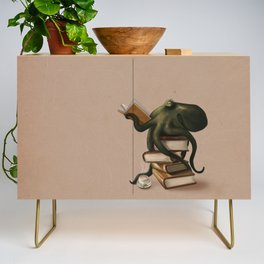 Well-Read Octopus Credenza