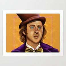 The Wilder Wonka Art Print